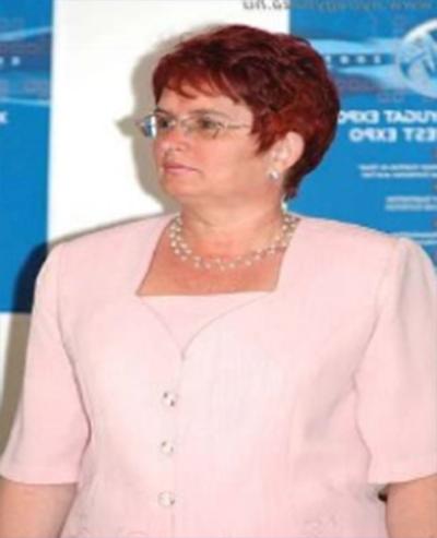 Szentpáliné Rudi Éva Erzsébet
